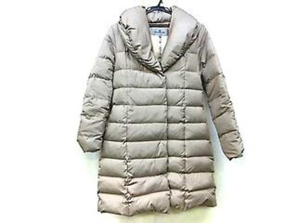 ビアッジョブルー ダウンコート サイズ2 M レディース美品  グレージュ 冬物