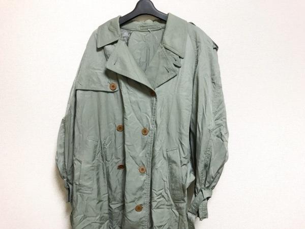 BARREAUX(バルー) コート サイズ48 XL メンズ ライトグリーン 春・秋物