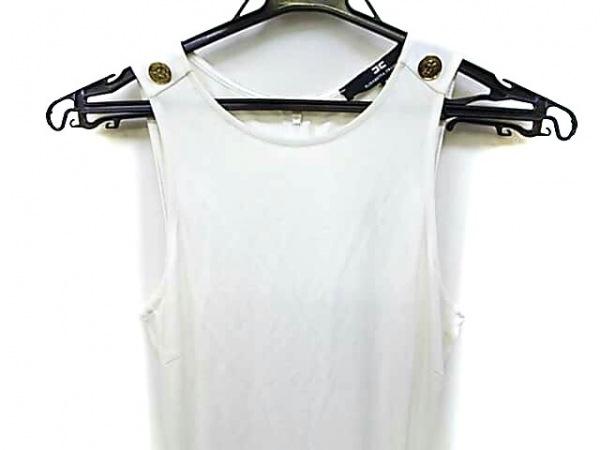エリザベッタフランキ ドレス サイズ38 M レディース AB8134182 アイボリー