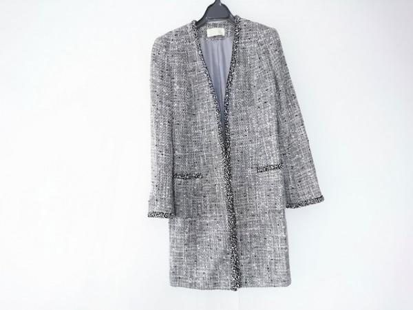 CHRISCELIN(クリスセリーン) コート サイズ9AR S レディース 黒×白