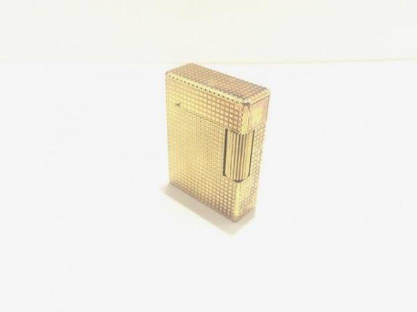 Dupont(デュポン) ライター ゴールド 着火確認できず 金属素材