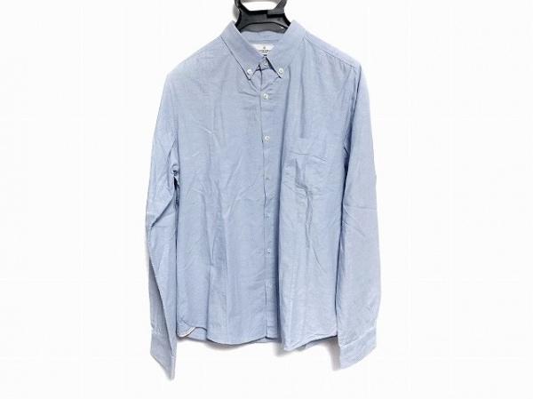 GOLDEN GOOSE(ゴールデングース) 長袖シャツ サイズS メンズ美品  ライトブルー