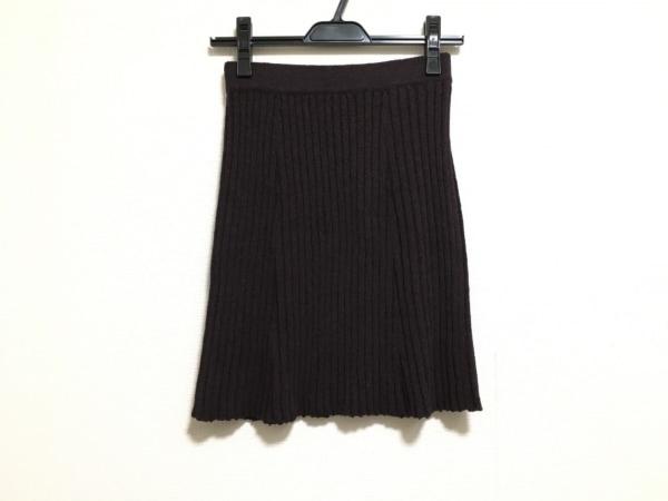 ロレーナ アントニアッジ スカート サイズ42 L レディース美品  ボルドー