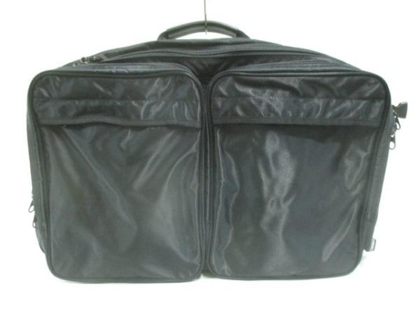 エーアイピー バッグ美品  黒 トラベル用バッグ 化学繊維