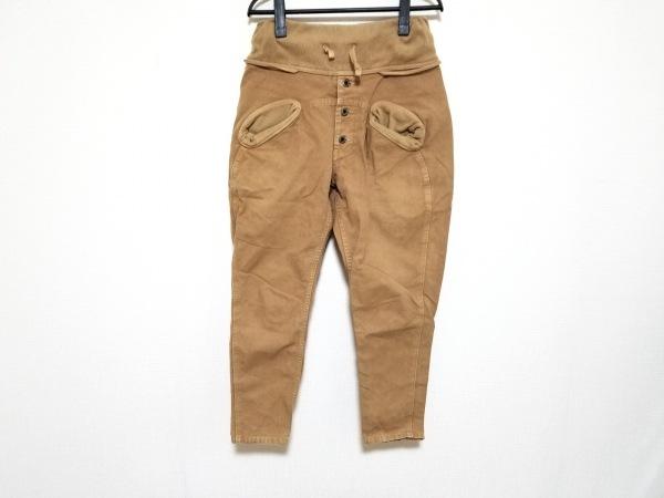 KAPITAL(キャピタル) パンツ サイズXS レディース ブラウン ゴムウエスト