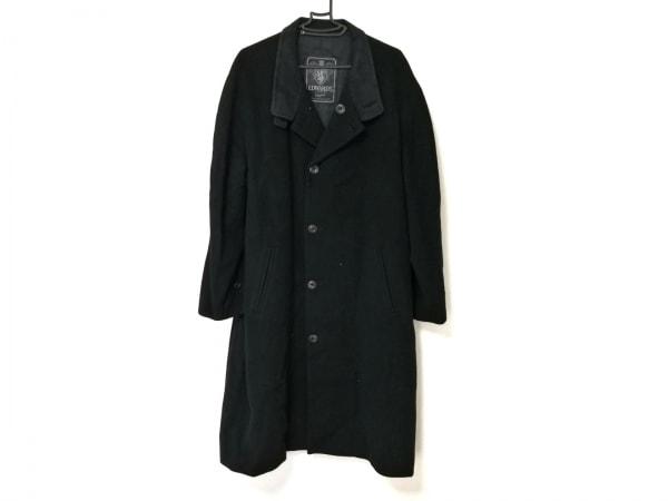 EDWARD'S(エドワーズ) コート メンズ 黒 冬物/ロング丈