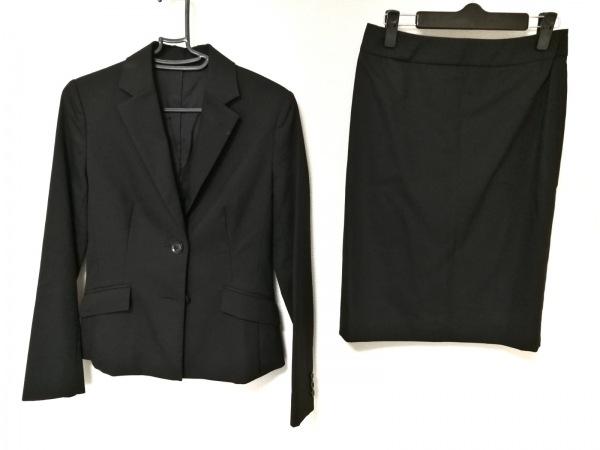 ru(アールユー) スカートスーツ レディース 黒 PLAIN