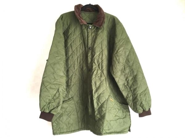 Barbour(バーブァー) コート サイズXL メンズ美品  ダークグリーン×ダークブラウン