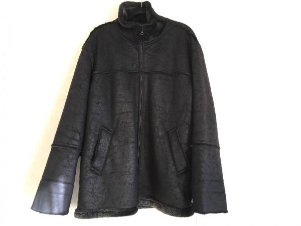 kansai(カンサイ) ブルゾン サイズ3L メンズ 黒 冬物