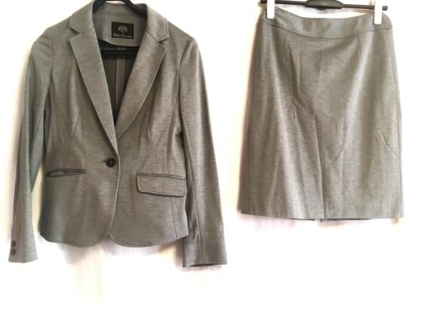 CLEAR IMPRESSION(クリアインプレッション) スカートスーツ レディース グレー