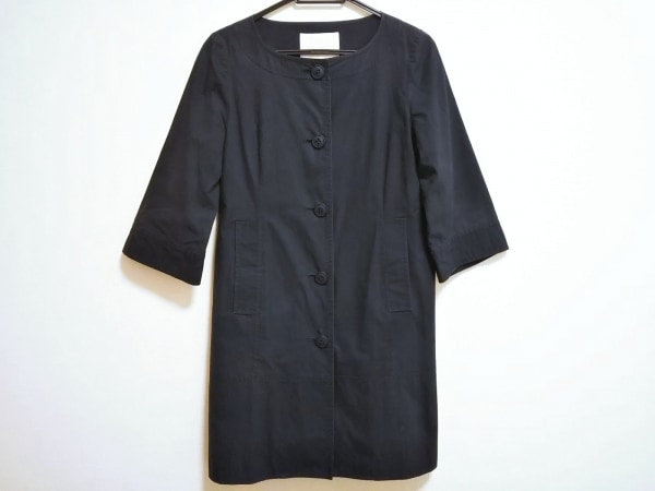 RAY BEAMS(レイビームス) コート サイズ0 XS レディース ダークネイビー 春・秋物