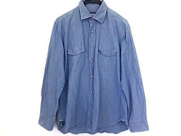 ORIAN(オリアン) 長袖シャツ サイズXL メンズ ブルー