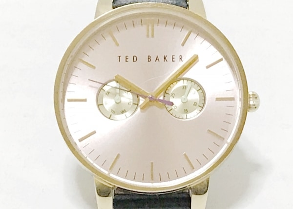 TED BAKER(テッドベイカー) 腕時計 - レディース 革ベルト ベージュ