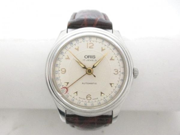 ORIS(オリス) 腕時計 ポインターデイト 7403 メンズ シルバー