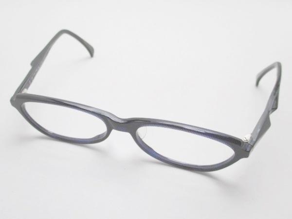 alain mikli(アラン・ミクリ) メガネ 2710 黒×ベージュ 度入り プラスチック