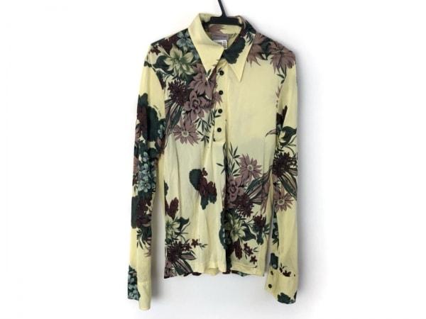 VERSACE CLASSIC(ヴェルサーチクラシック) 長袖シャツ サイズL メンズ美品  花柄
