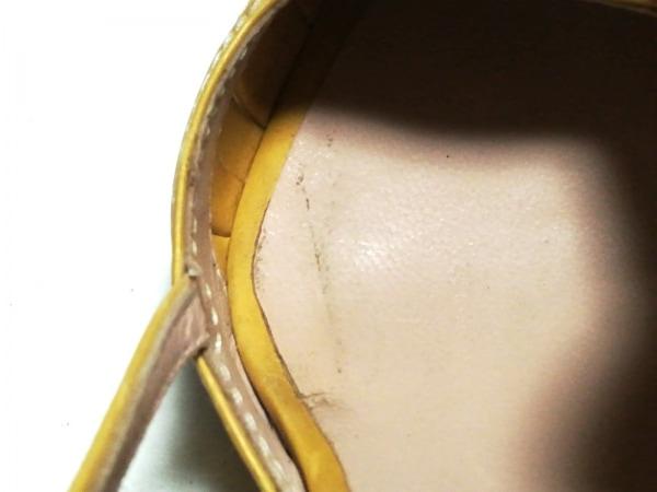 ブルーノフリゾーニ サンダル 35 1/2 レディース マスタード リボン レザー