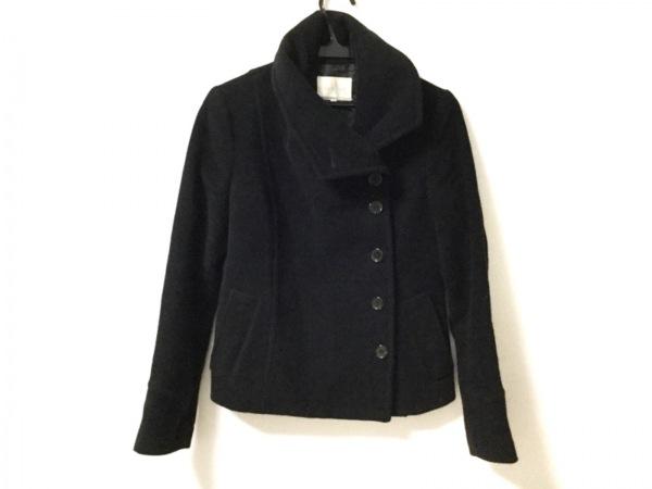 qualite(カリテ) コート サイズ38 M レディース美品  黒 冬物