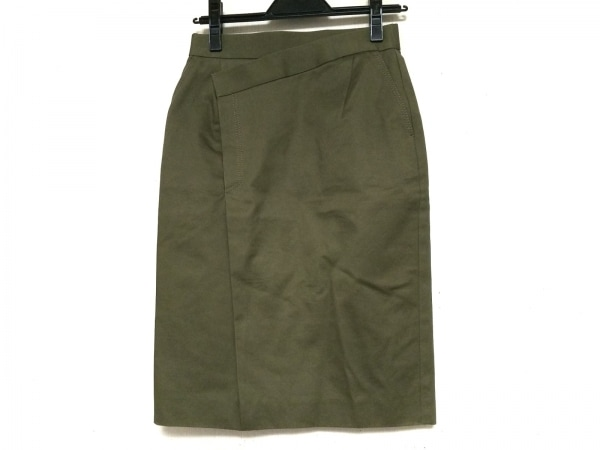 HYALINES(ハイアリン) スカート サイズ36 S レディース カーキ