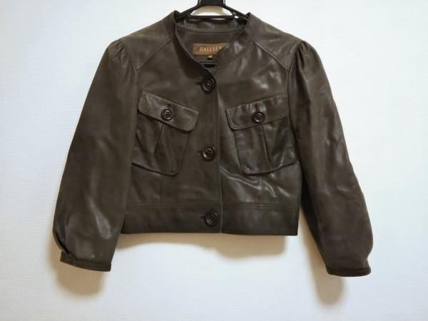 BALLSEY(ボールジー) ジャケット サイズ38 M レディース ダークグリーン レザー