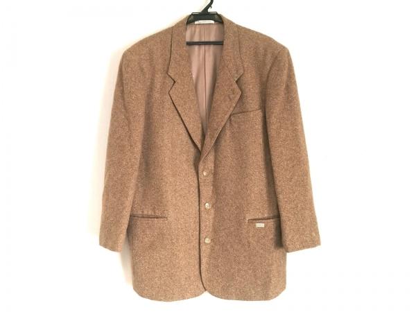 Papas(パパス) ジャケット サイズL48 メンズ ブラウン 春・秋物