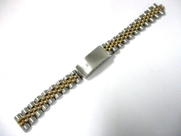 ROLEX(ロレックス) 小物美品  K18YG×シルバー 腕時計用ベルト ステンレススチール