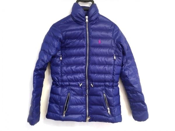 ポロゴルフラルフローレン ダウンジャケット サイズXS レディース美品  ブルー 冬物