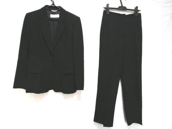 マックスマーラ レディースパンツスーツ サイズ42 M レディース 黒 肩パッド
