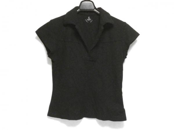 Umii 908(ウミ908) 半袖ポロシャツ サイズ3 L レディース 黒