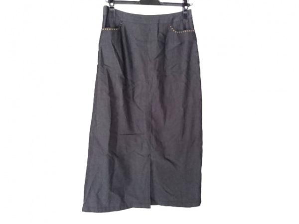 Leilian(レリアン) ロングスカート サイズ11 M レディース 黒