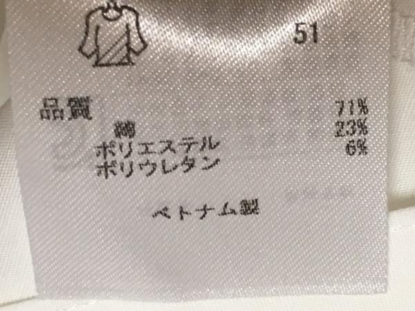 23区(ニジュウサンク) 長袖シャツブラウス サイズ42 L レディース美品  白