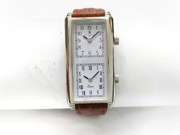 SAINT HONORE(サントノーレ) 腕時計 819002.2-L3 レディース 革ベルト 白