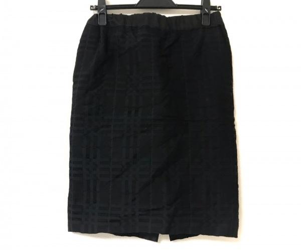 ASTRAET(アストラット) スカート サイズ0 XS レディース 黒 チェック柄