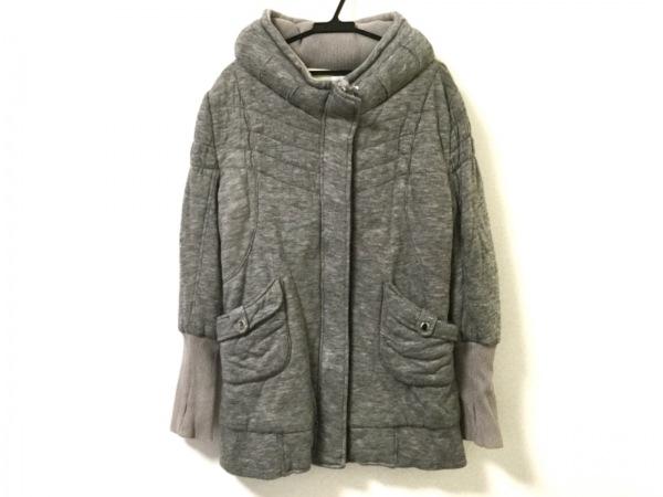 ARNOLD PALMER(アーノルドパーマー) コート サイズ1 S レディース グレー 中綿/冬物