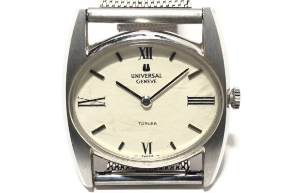 UNIVERSAL GENEVE(ユニバーサル ジュネーブ) 腕時計 842608 レディース アイボリー