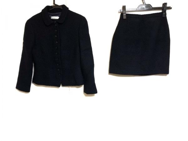 PESERICO(ペゼリコ) スカートスーツ サイズ40 M レディース美品  ダークネイビー