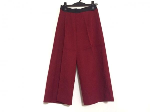 M・Fil(エムフィル) パンツ サイズ36 S レディース レッド