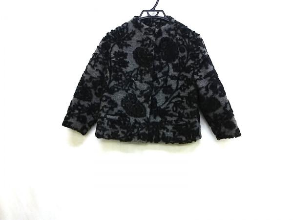 バンドオブアウトサイダーズ コート サイズ38 M レディース 黒×グレー
