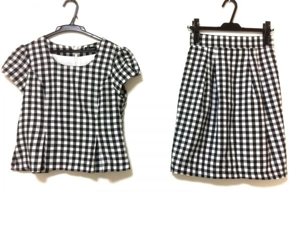 リッチミーニューヨーク スカートセットアップ サイズS レディース 黒×白×グレー