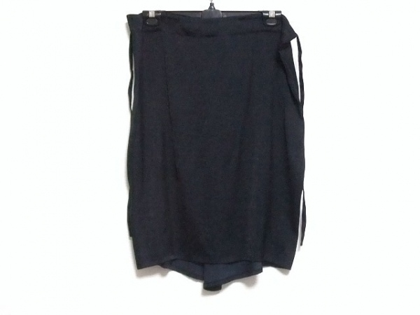ANN DEMEULEMEESTER(アンドゥムルメステール) スカート サイズ36 S レディース 黒