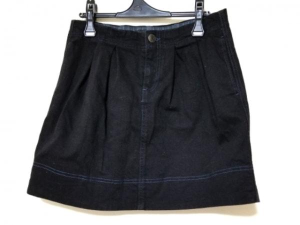 マークバイマークジェイコブス スカート サイズ6 M レディース美品  黒 デニム