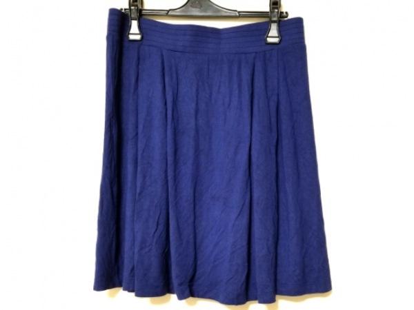 agnes b(アニエスベー) スカート サイズ3 L レディース美品  ネイビー