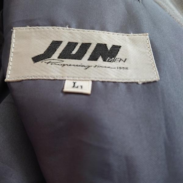 JUN MEN(ジュンメン) ダブルスーツ メンズ グレー