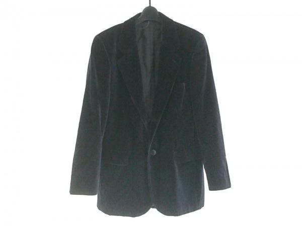 agnes b(アニエスベー) ジャケット サイズ48 L メンズ 黒×ダークグレー