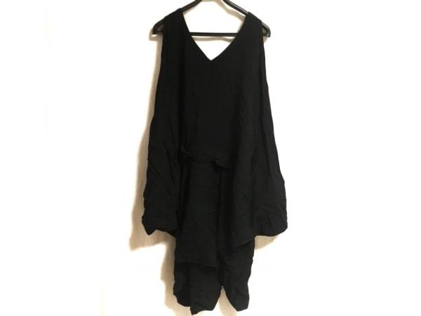 LIMI feu(リミフゥ) ワンピース レディース美品  黒 変形デザイン