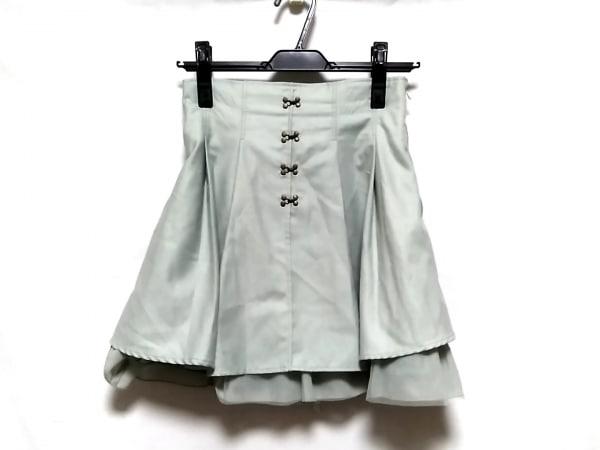 Secret Honey(シークレットハニー) スカート サイズ2 M レディース ライトグリーン