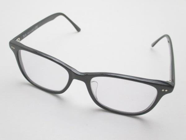 Ray-Ban(レイバン) メガネ - 黒×クリア プラスチック