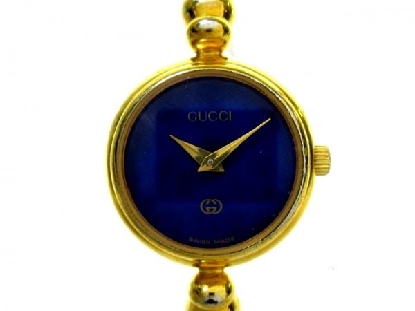 GUCCI(グッチ) 腕時計 2700L レディース ネイビー
