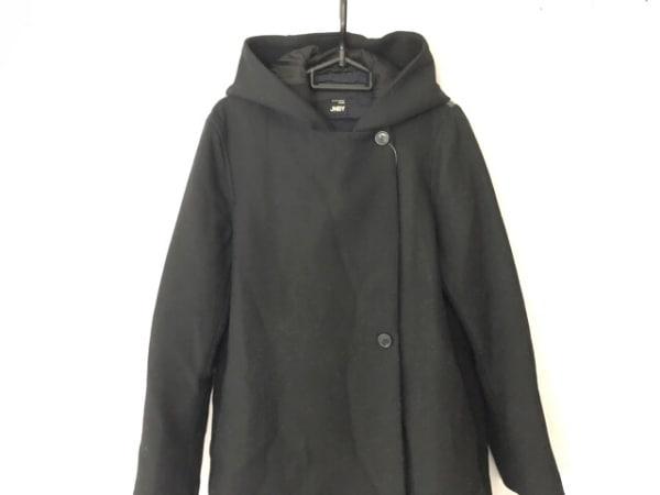 JNBY SINCE1994 コート サイズ38 M レディース 黒×ダークグレー 冬物