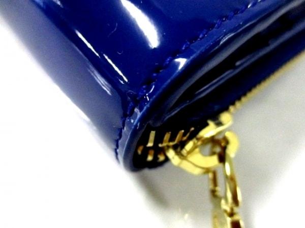 イヴサンローランリヴゴーシュ 2つ折り財布美品  - 352906 ブルー 6